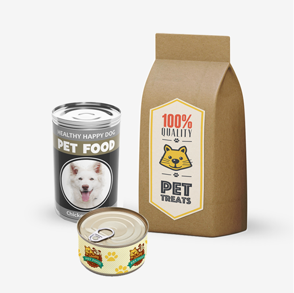 Picture of Pet Product Labels
