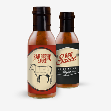 Picture of BBQ Sauce Labels
