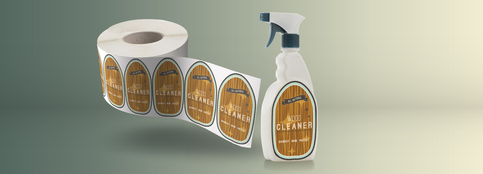 Custom Household Product Labels