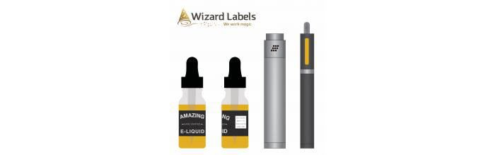 Picture for Vape Labels and Thermal Transfer Printing