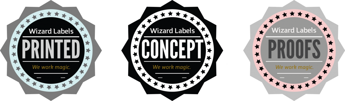 Picture for Printed Concept Product Label Proofs